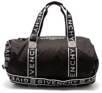 Givenchy 4g-webbing Technical Holdall - Black White