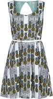 Yumi Pineapple Stripe Dress