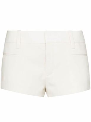 Saint Laurent Mid Rise Short-Shorts