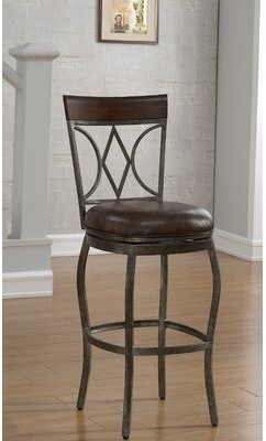 "American Heritage Infinity Bar & Counter Swivel Stool Seat Height: Bar Stool (30"" Seat Height)"