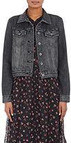 Barneys New York XO Jennifer Meyer Women's Denim Jacket-BLACK