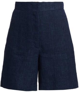 Akris Punto Linen Shorts