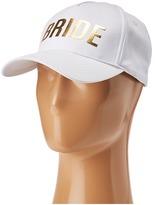 Betsey Johnson Blue By Bride Baseball Hat Baseball Caps