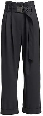 Brunello Cucinelli Women's Full Length Cuffed Pants
