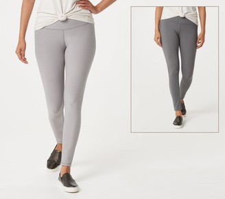 Women With Control Regular Reversible No Side Seam Leggings