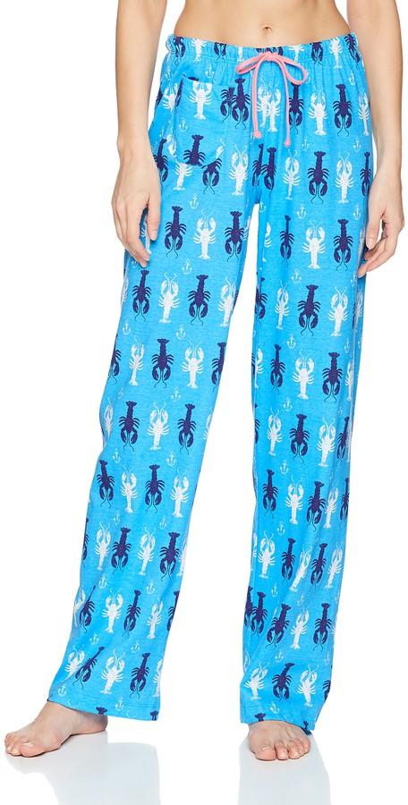 Hatley Little Blue House by Women's Sea Creatures Jersey Pajama Pants