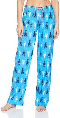 Hatley Little Blue House By Little Blue House by Women's Sea Creatures Jersey Pajama Pants