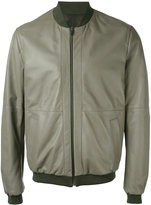 Etro reversible bomber jacket - men - Cotton/Leather - L