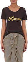 "Etoile Isabel Marant Women's Vika ""Kingston"" Silk T-Shirt-DARK GREY"