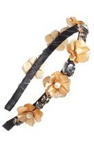 Tasha Flower Crystal Headband