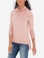 The Limited Cowl Neck Buttoned Tunic
