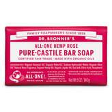 Dr. Bronner's Dr. Bronner Castile Bar Soap - Rose