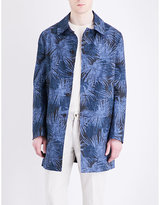 Lardini Reversible Cotton-blend Trench Coat