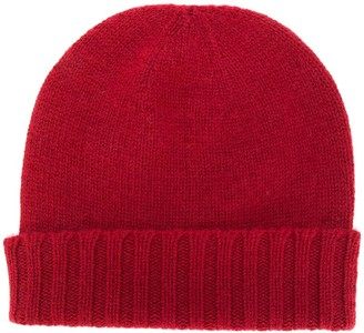 Pringle Ribbed Cashmere Beanie