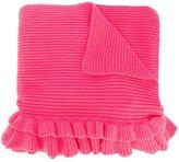 Stella McCartney fringed ruffle scarf