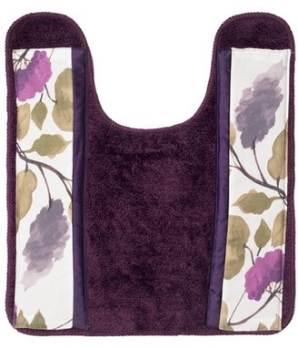 Popular Bath Jasmine Plum Bath Collection Bathroom Contour Commode Rug