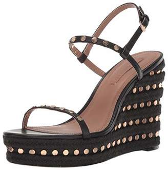 BCBGMAXAZRIA Women's Paige Wedge Sandal Heeled