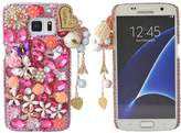 S6 Case,Yaheeda 3D Fashion Bling PC Hard Case for