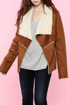B-Sharp Suede Jacket