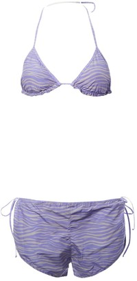 ACK Purple Lycra Swimwear for Women