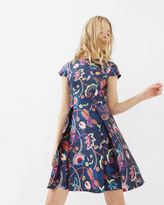 Ted Baker Folk Foliage skater dress