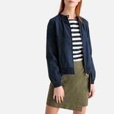La Redoute Collections Short Loose Fit Bomber Jacket