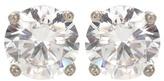 Bottega Veneta Zirconia Crystal Earrings