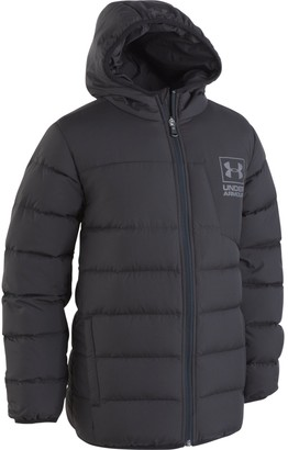 Under Armour Boys' Toddler UA Swarmdown Hooded Jacket