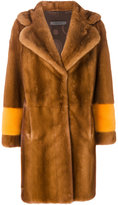 Simonetta Ravizza Oreg coat - women - Silk/Mink Fur - 46