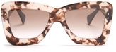 Roksanda X Cutler and Gross square-frame acetate sunglasses