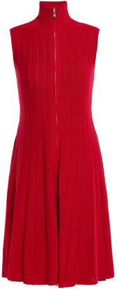 ADEAM Ribbed-knit Dress