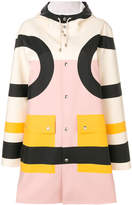 Henrik Vibskov colourblock coat