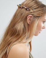 Asos Occasion Pretty Beaded Back Headband