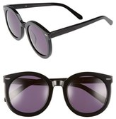 Karen Walker Women's Alternative Fit Super Duper 59Mm Sunglasses - Black
