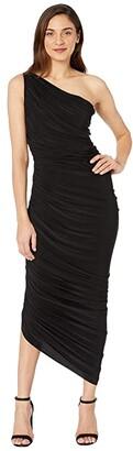 KAMALIKULTURE by Norma Kamali Diana Gown (Black) Women's Dress