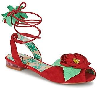 Miss L Fire Miss L'Fire ROSETTA women's Sandals in Red