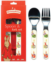Bunnykins Abc Design Fork and Spoon Set