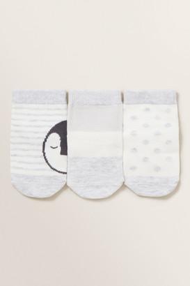 Seed Heritage Penguin 3 Pack Socks