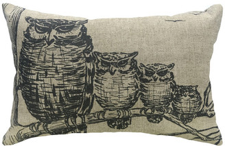 Thewatsonshop Owl Linen Pillow
