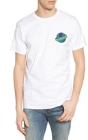 Obey Men's Dissent Globe Graphic T-Shirt