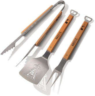 Los Angeles Angels of Anaheim Classic Series 3-Piece Grill Tongs, Spatula & Fork BBQ Set