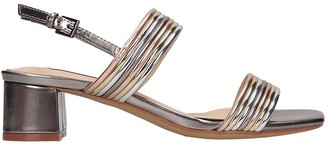 Bibi Lou Sandals In Multicolor Leather