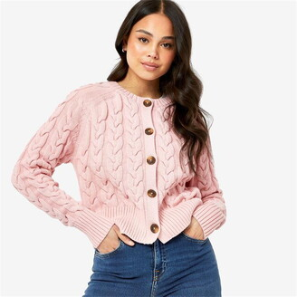 Jack Wills Westby Chunky Cable Cardigan