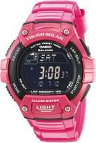 Casio Women's WS220C-4BV Tough Solar Powered Sport Watch