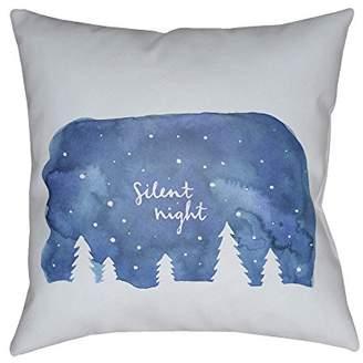 Surya Poinsettia Pillow Cover