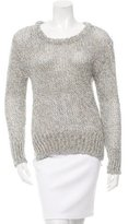 Giada Forte Open Knit Scoop Neck Sweater