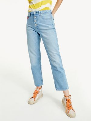 Tommy Hilfiger Harper Straight Fit High Rise Jeans