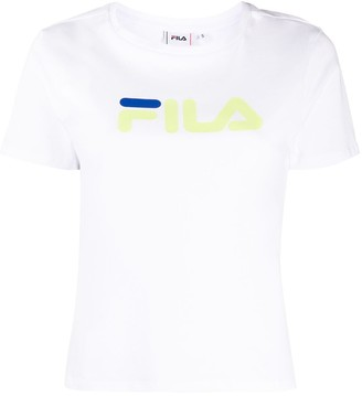 Fila logo-print short sleeved T-shirt
