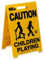 "Kid Kusion Portable ""Children Playing"" Driveway Safety SignTM"