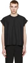 Robert Geller Black Moritz T-Shirt